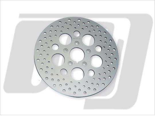 11.5吋 打孔型前煞車碟盤 (鋼製)