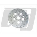 【GUTS CHROME】11.5吋 打孔型前煞車碟盤 (鋼製)
