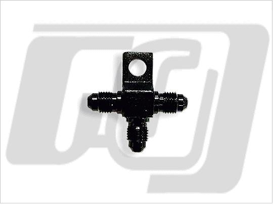 通用型煞車油管三通 (黑色)