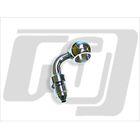【GUTS CHROME】油管接頭 7/16 90度 (電鍍)