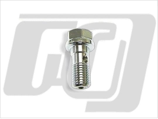 油管接頭螺絲 10mm (鏡面電鍍)
