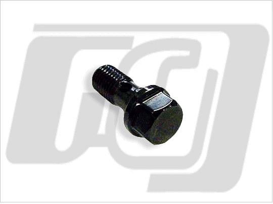油管接頭螺絲 10mm (黑色)