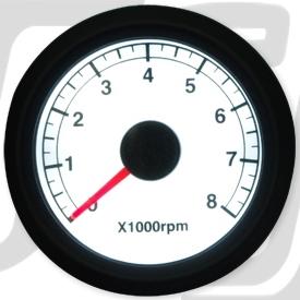 【GUTS CHROME】電子式可調式轉速錶 - 「Webike-摩托百貨」