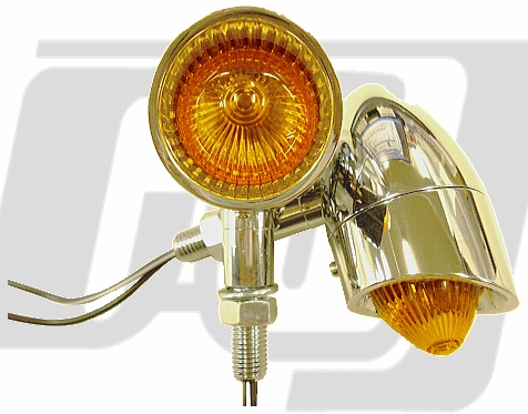 【GUTS CHROME】Rocket 方向燈組 - 「Webike-摩托百貨」