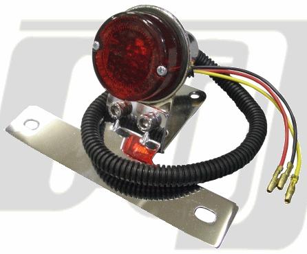 【GUTS CHROME】圓型尾燈 Small  - 「Webike-摩托百貨」