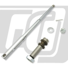 【GUTS CHROME】電鍍前輪軸軸芯套件