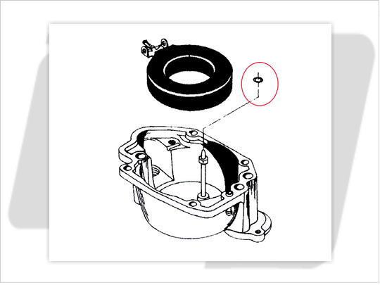S&S E&G化油器用 主油嘴O環