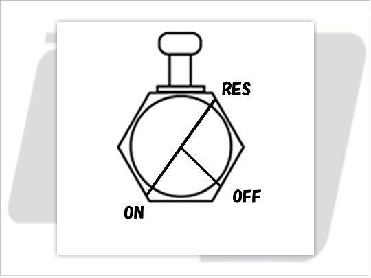 【GUTS CHROME】13/16 NPT 六角型油杯開關90度 (後) - 「Webike-摩托百貨」
