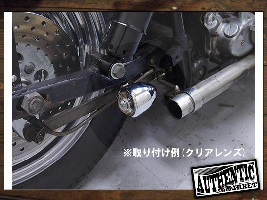 【GUTS CHROME】Guide Type 方向燈組 (電鍍 白色燈殼) - 「Webike-摩托百貨」