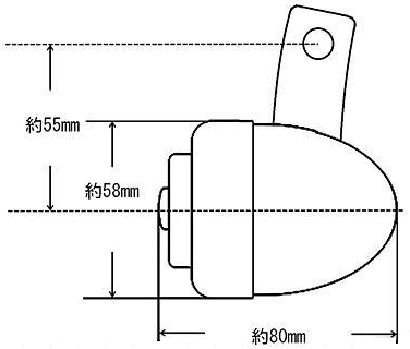 【GUTS CHROME】Guide Type 方向燈組 - 「Webike-摩托百貨」