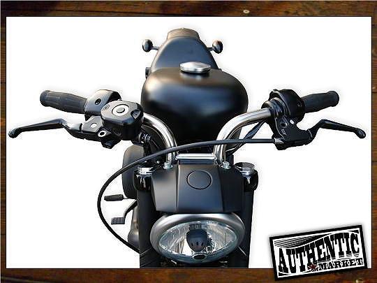 【GUTS CHROME】Short Digger 把手  (無配線用凹痕) - 「Webike-摩托百貨」