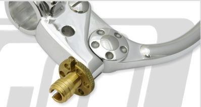 【GUTS CHROME】KustomTech 黃銅拉索調整器 - 「Webike-摩托百貨」