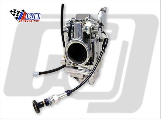 MIKUNI HSR45 化油器 (拋光 單體)