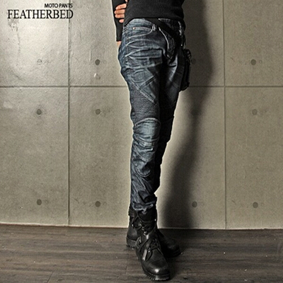 【uglyBROS】MOTOPANTS FEATHERBED 牛仔車褲 - 「Webike-摩托百貨」