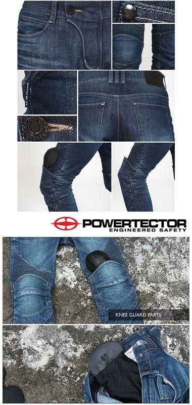 【uglyBROS】MOTO PANTS FEATHERBED 牛仔車褲 - 「Webike-摩托百貨」