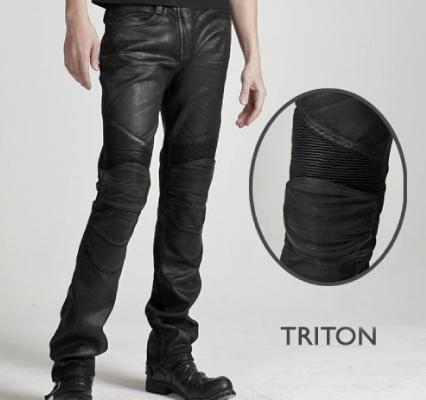 MOTO PANTS TRITON 牛仔車褲