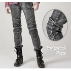 【uglyBROS】MOTO PANTS FEATHERBED 牛仔車褲