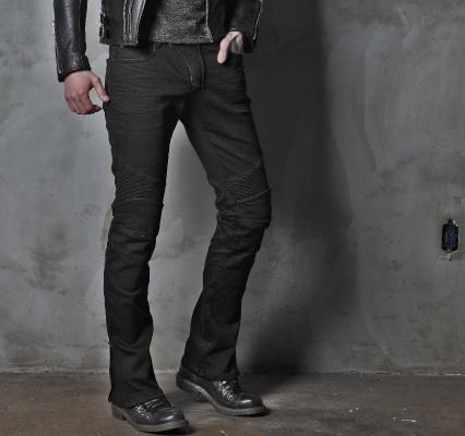 MOTO PANTS FEATHERBED201牛仔車褲