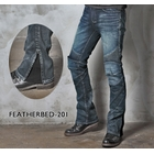 【uglyBROS】MOTO PANTS FEATHERBED201牛仔車褲