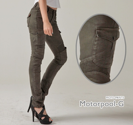 MOTOPANTS MOTORPOOL-G 女用牛仔車褲