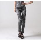 【uglyBROS】MOTO PANTS TWIGGY 女用牛仔車褲