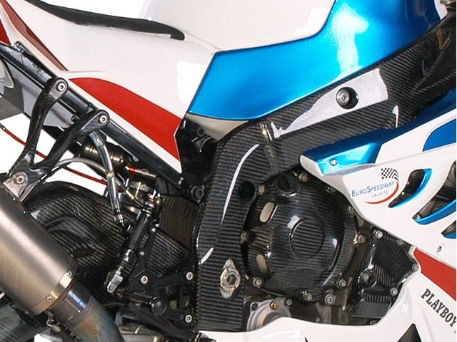 【alpha Racing】碳纖維 車架護蓋組 - 「Webike-摩托百貨」
