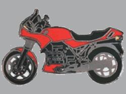 【Wegener】別針徽章 BMW K75 - 「Webike-摩托百貨」