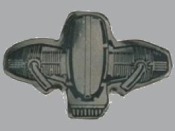 別針徽章 BMW Boxer OHV 2V Square Silver (小)