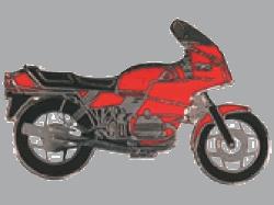 【Wegener】別針徽章 BMW R100RS - 「Webike-摩托百貨」