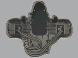 別針徽章 BMW Boxer R259