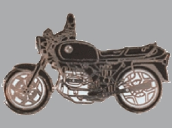 別針徽章 BMW R80