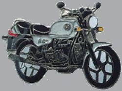 別針徽章 BMW R65