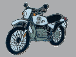 別針徽章 BMW R80GS Basic