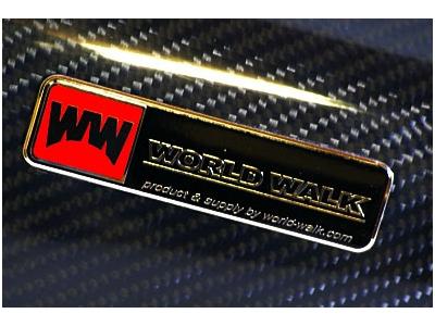 【World Walk】碳纖維排氣管外蓋 - 「Webike-摩托百貨」