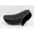 【田中商會】Tuck Roll 坐墊  黑色×黃色滾邊