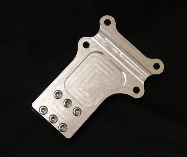 田中商會製 車架用 CNC鋁合金 Billet 引擎強化護板