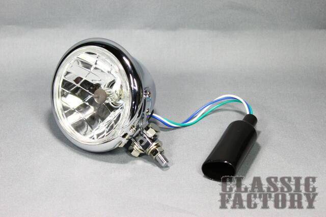 4.5吋 Bates 頭燈 (晶鑽/電鍍)