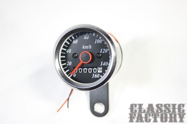 48Φ 轉速錶 (黑色)