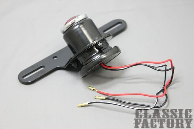 【CLASSIC FACTORY 】MT110 Round Type 尾燈 - 「Webike-摩托百貨」