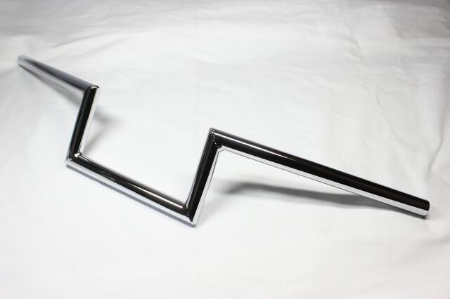 【CLASSIC FACTORY 】7/8吋 Robohan 把手4吋(10cm)鍍鉻 - 「Webike-摩托百貨」