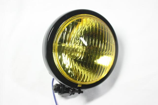 Thin Bates 頭燈 (黃色/黑色)