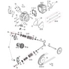 DAYTONA [Dynahead DOHC Repair Parts] Piston Ring Set Φ 54mm