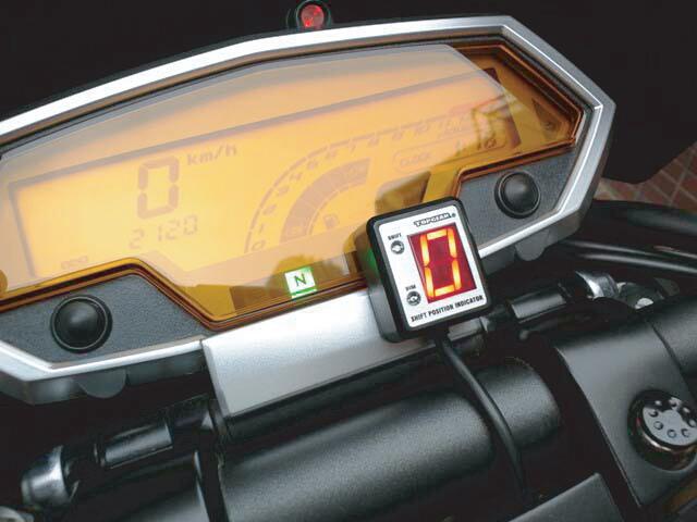 【PROTEC】SPI-K73 檔位指示器套件 Z 1000 (水冷) 10- 専用 - 「Webike-摩托百貨」