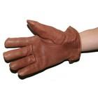 【MOTOBLUEZ】【HEAVY】鹿皮手套棉質內襯 冬用 (棕)