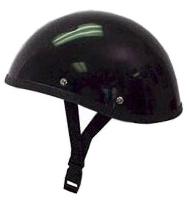 【MOTOBLUEZ】獨創裝飾用半罩安全帽(Smoky) 黑色 - 「Webike-摩托百貨」