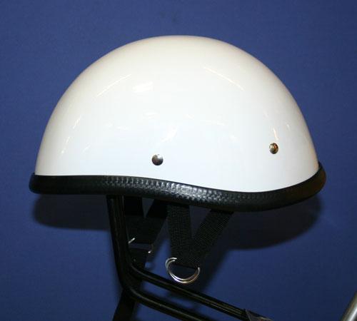 獨創裝飾用半罩安全帽(Smoky)白色