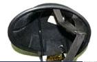 【MOTOBLUEZ】獨創裝飾用半罩安全帽(Jockey) 霧黑色 - 「Webike-摩托百貨」