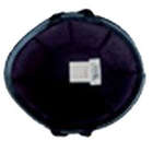 【MOTOBLUEZ】獨創裝飾用半罩安全帽(German) 黑色