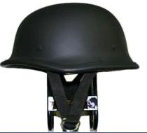 獨創裝飾用半罩安全帽(German) 霧黑色