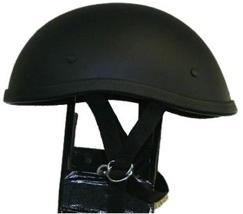 獨創裝飾用半罩安全帽(Ducktail) 霧黑色